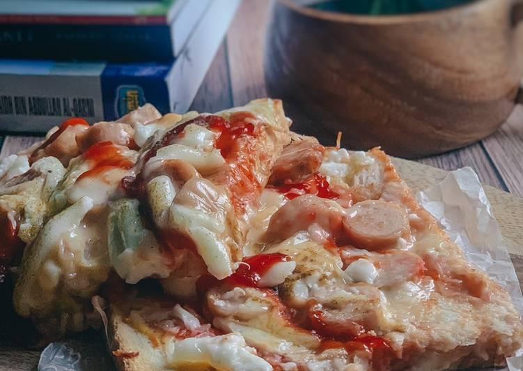 Resepi:  Roti Pizza Asal Boleh  Dirumah