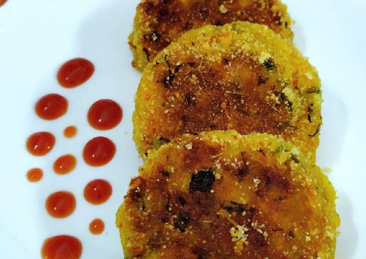 What is Dinner Easy Ultimate Potato-carrot tiki (Aloo-Gajar tiki)