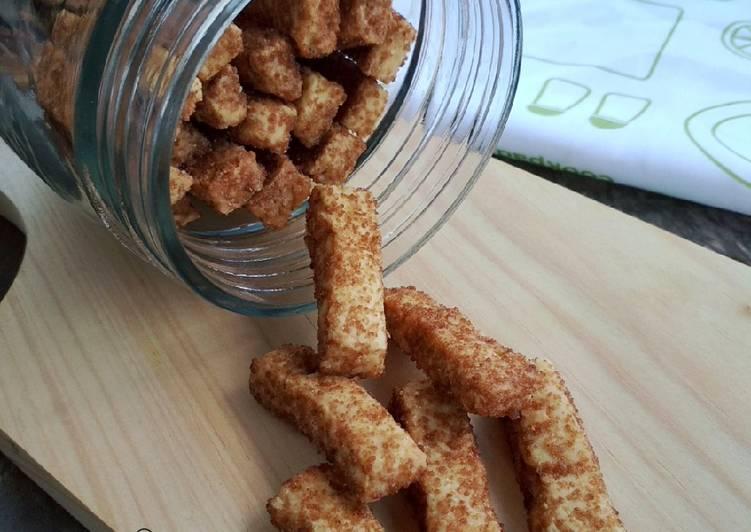 Bagaimana Menyiapkan Palm Sugar Cookies, Enak