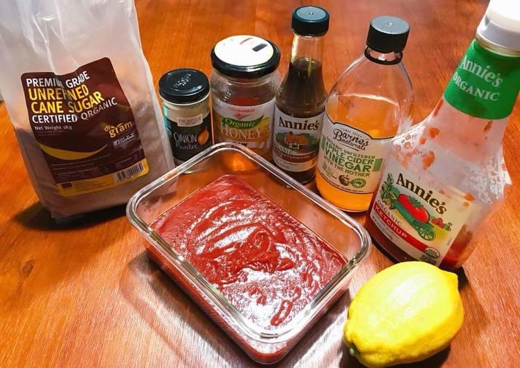 Recipe: Yummy 有機蜂蜜燒烤醬 ORGANIC HONEY BARBECUE SAUCE