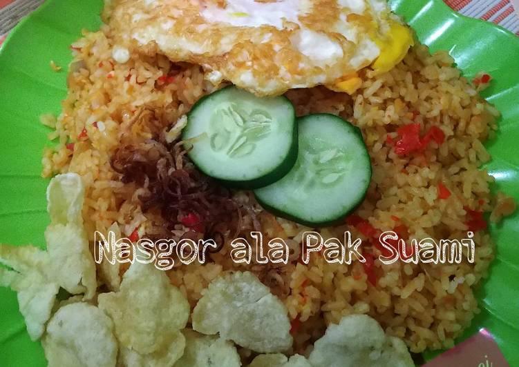 Resep Nasgor ala Pak Suami Terenak