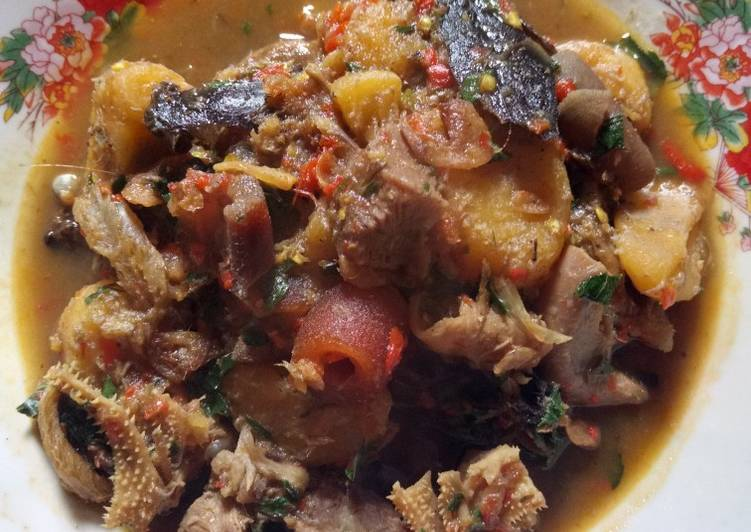 Simple Way to Make Award-winning Plantain peppersoup