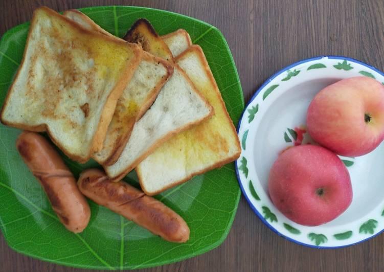 Resep Breakfast simpel Paling Enak