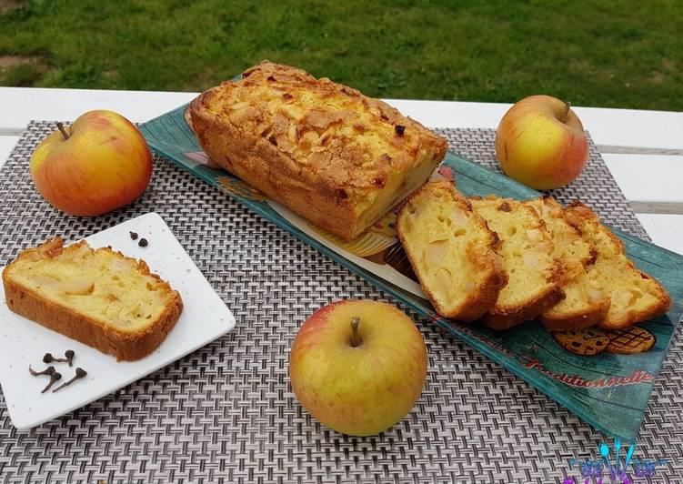 La Recette Pas à Pas Cake aux pommes