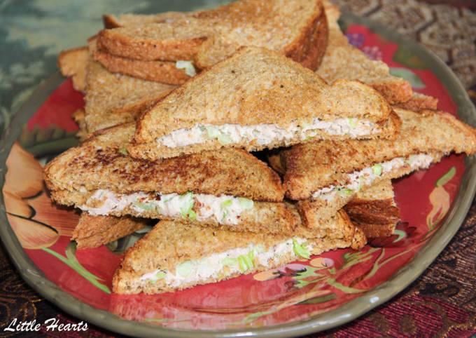 Perfect Avocado Tuna Sandwiches