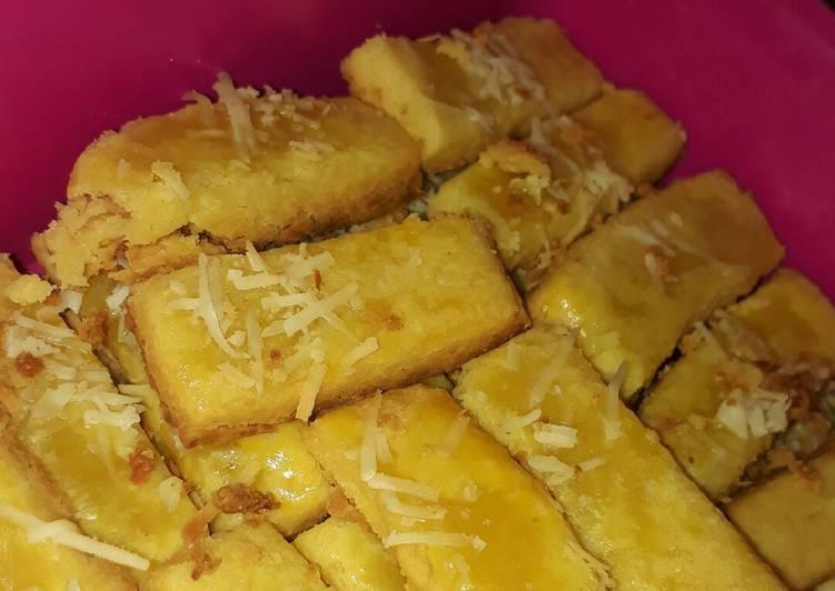 Kue Kering Kastengel (ngeju dan rempul, no oven)