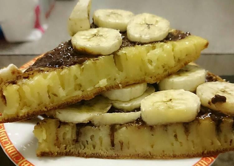 Martabak pisang Coklat