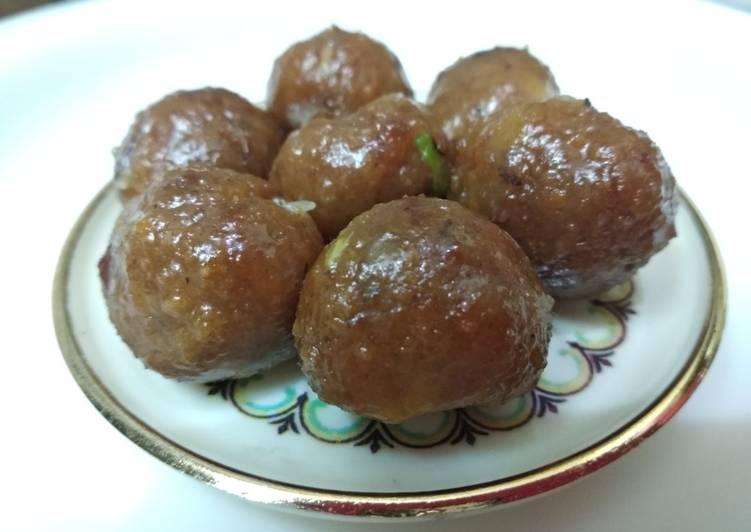 Sweet potato nutritious balls