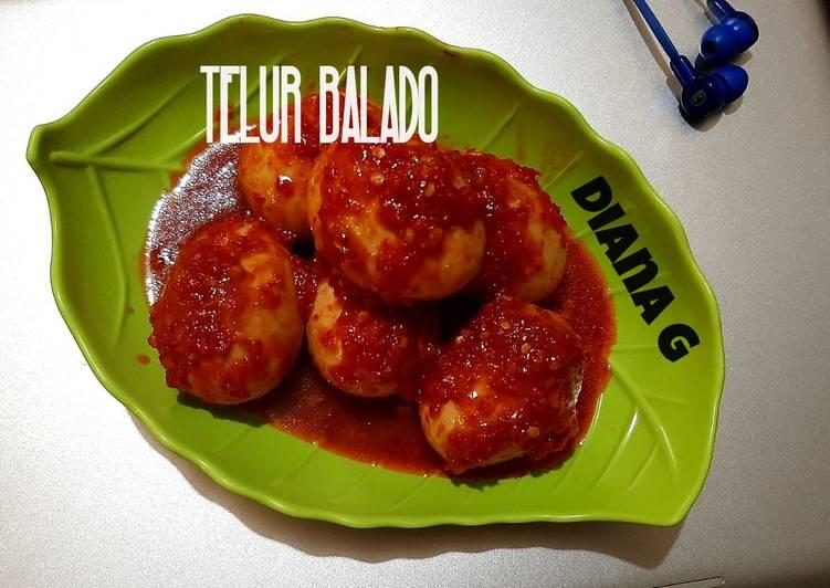 Balado Telur /masak habang