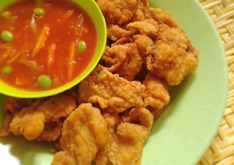 Chicken karage asam manis