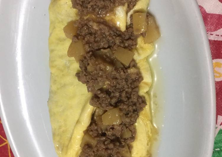 Recipe of Any-night-of-the-week Beef Torta Omelette (Filipino)