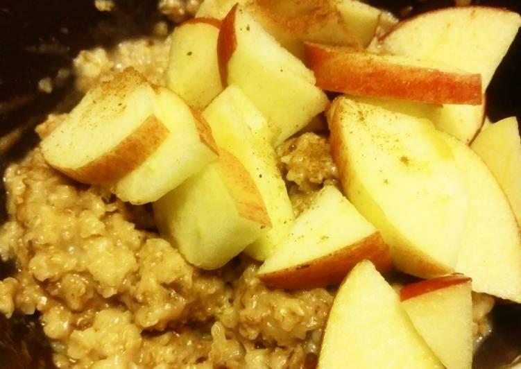 Mazamorra o porridge de avena