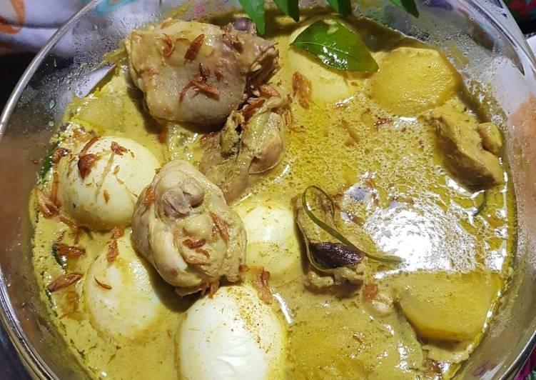 Resep Kare Ayam Komplit♡ yang Sempurna