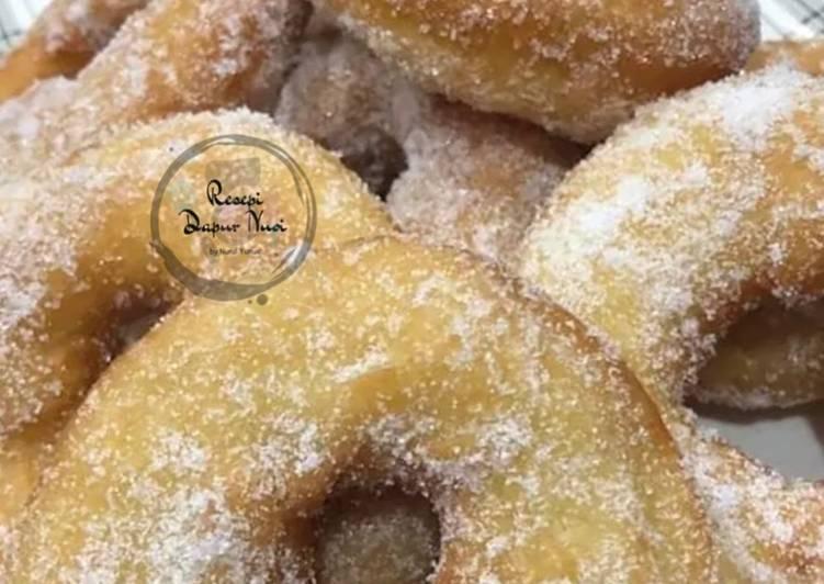 Resepi Donut Gebu dan Rangup