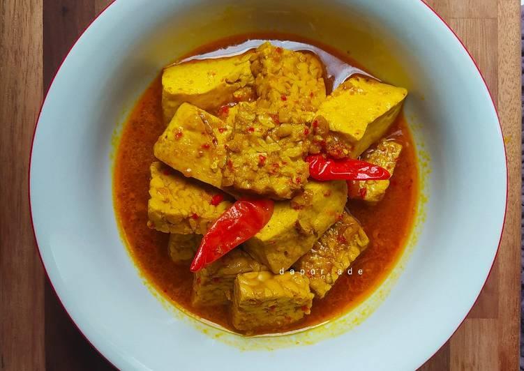 Rahasia Membuat Sayur Tahu Tempe Kuning Tanpa Santan Bikin Ngiler Resep Masakan Sayur