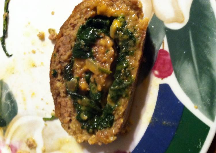 Recipe of Favorite Meat Loaf Roll Florentine