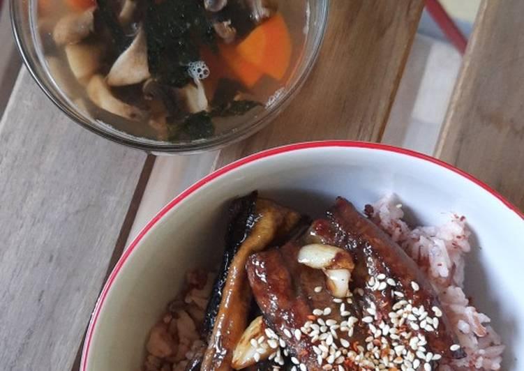Belut Panggang dan Sup