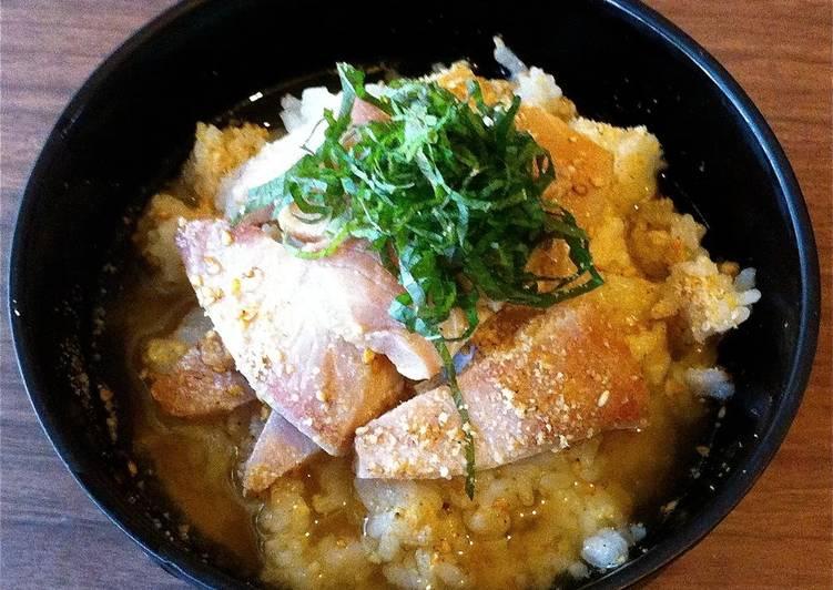 Marinated Ochazuke with Leftover Sashimi