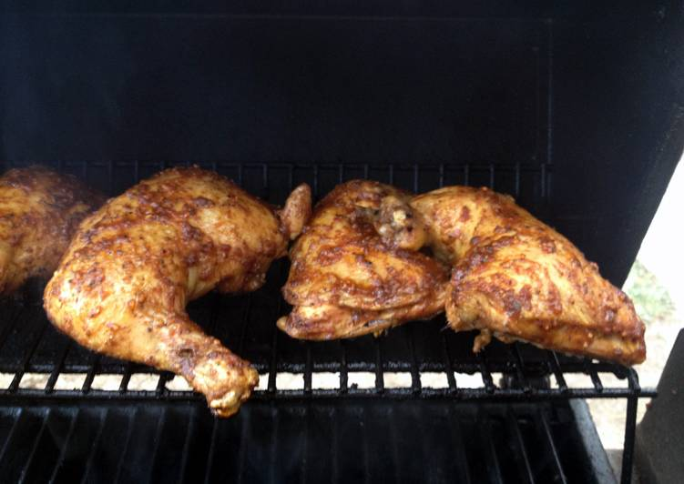 Best Brown Sugar Bourbon Chicken Legs