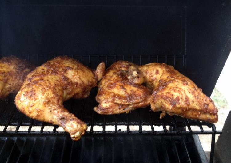 Steps to Prepare Favorite Best Brown Sugar Bourbon Chicken Legs