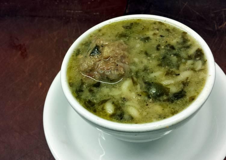 Recipe of Quick Greek Wedding Soup