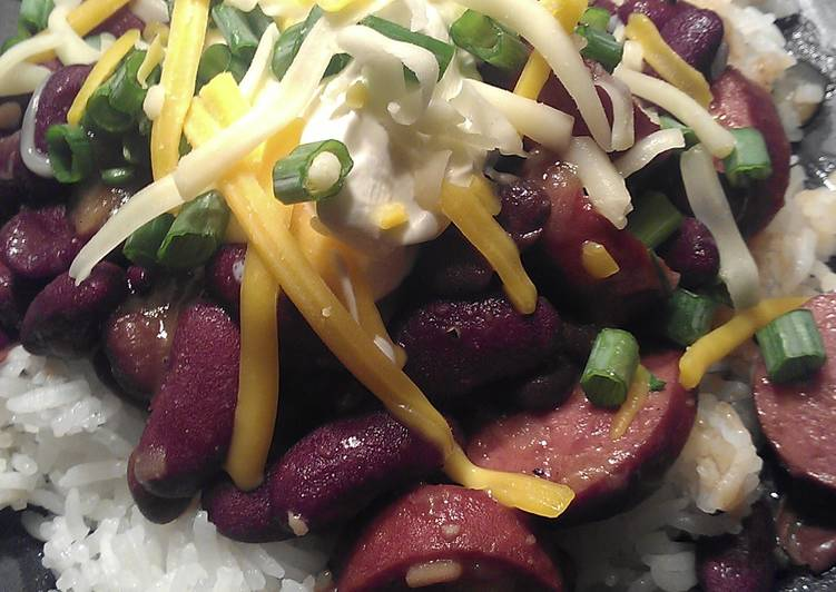 Debz Red beans and rice