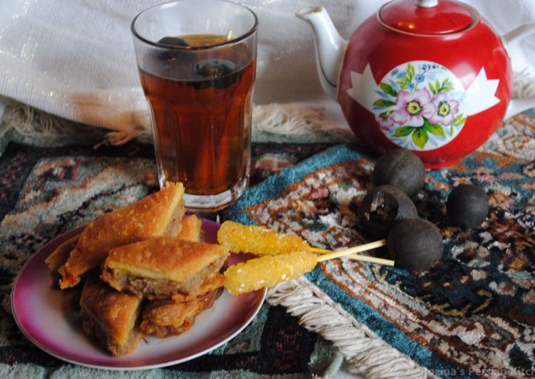 Recipe of Quick Persian style black tea with dried lime