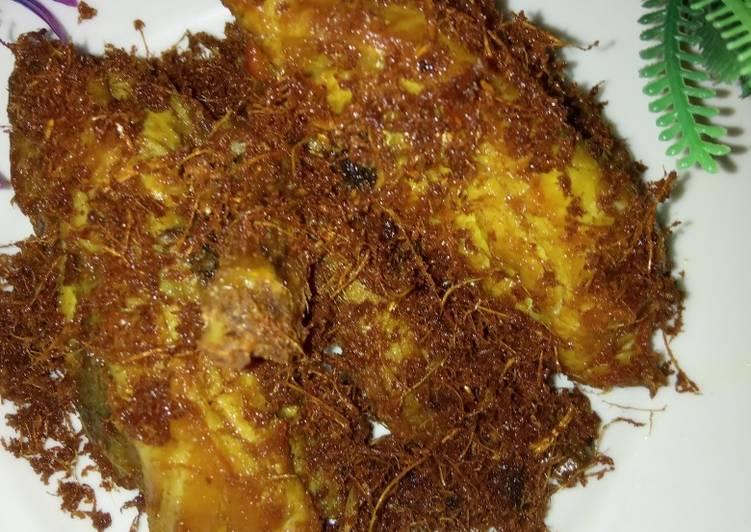 Ayam bumbu lengkoas crispy