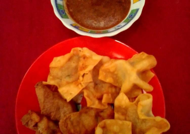 resep cara membuat Batagor aci tanpa ikan