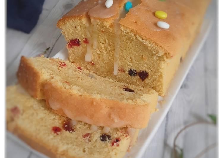 English Fruit Cake (buah Naga,Kurma)