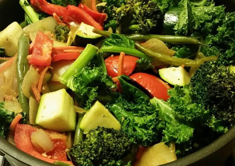 Recipe: Perfect Veggie Stir Fry