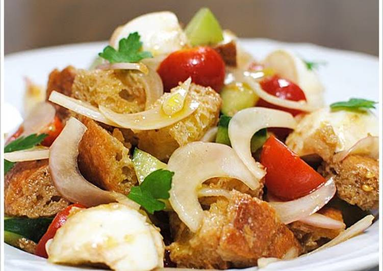 The Foods You Select To Feed On Are Going To Effect Your Health Panzanella with Mozzarella Cheese