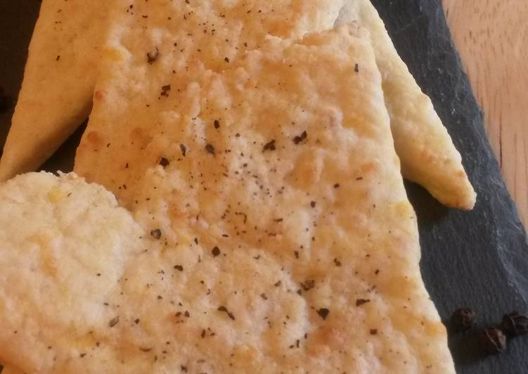 Recipe: Delicious Cheese Cracker Crisps