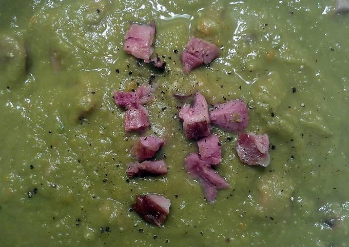 'On the Mark' Split Pea Soup