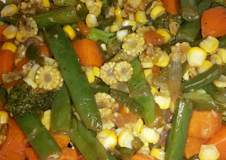 Step-by-Step Guide to Prepare Favorite Colorful Mixed Vegetables