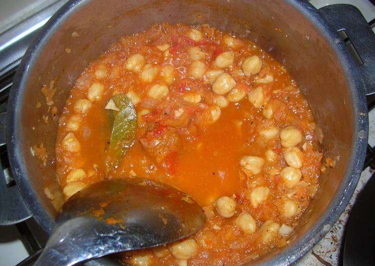 Recipe of Award-winning Vegetarian Curry with Chickpeas