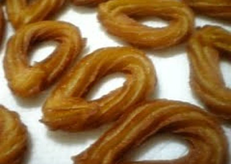 Easiest Way to Make Favorite Churros Dough Made in the Microwave with Soy Milk and Brown Sugar (Japanese-Style Flavors)