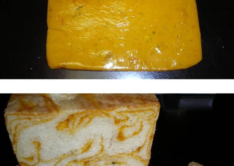 How to Cook Tasty Easy Kabocha Squash Marbled Bread