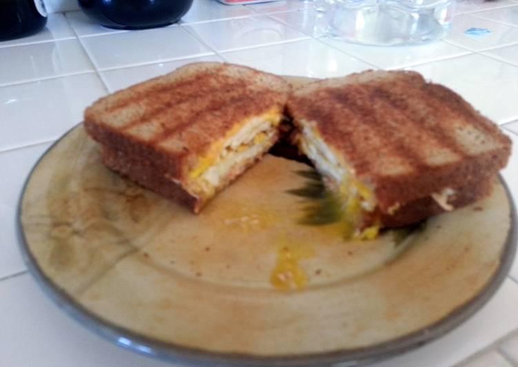 Recipe of Favorite Monster Ham & Egg breakfast Panini