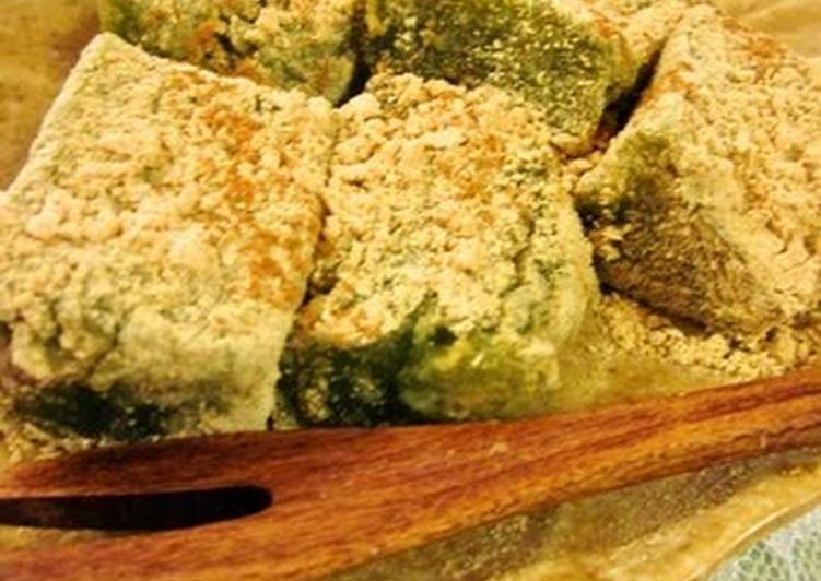 The Meals You Choose To Feed On Will Effect Your Health Matcha Warabi Mochi with Matcha