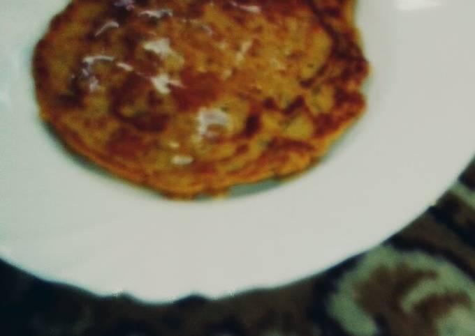 Healthy Sweet potato pancake