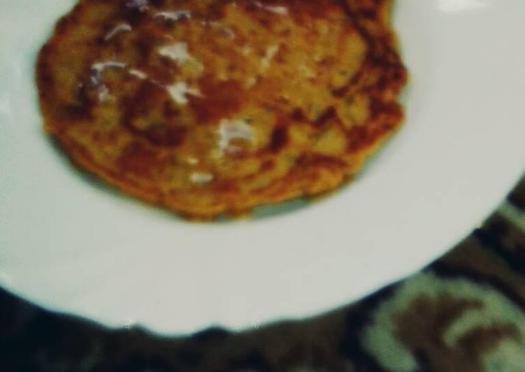 Easiest Way to Prepare Super Quick Homemade Healthy Sweet potato pancake