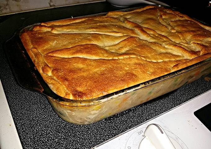 Quick and Easy Chicken Pot Pie!!!
