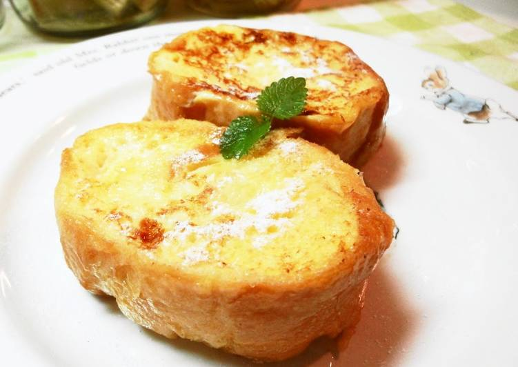 Fluffy & Delicious French Toast