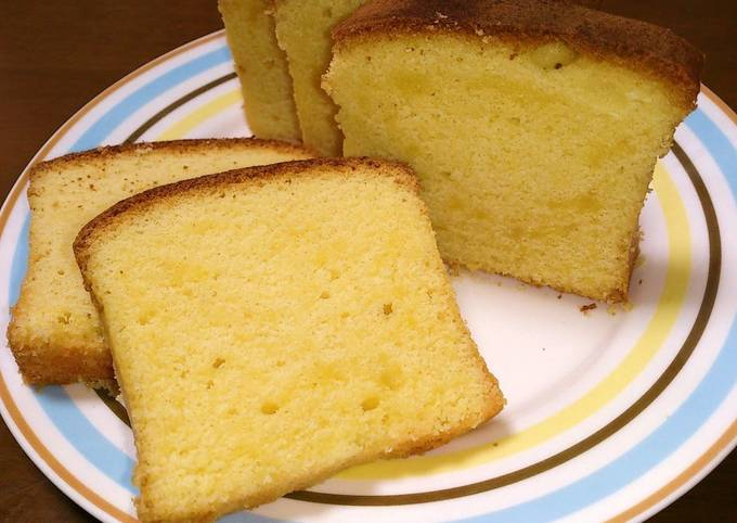 Simple but Authentic Brandy Cake for Grownups