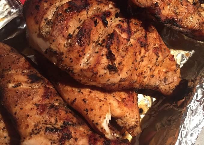 Simple BBQ Chicken Breast
