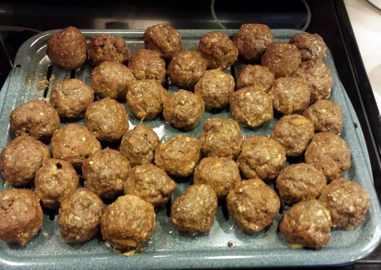 Recipe of Quick JR's italian meatballs