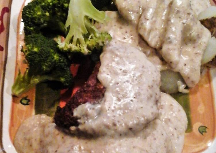 Garlicky Chicken Fried Steak