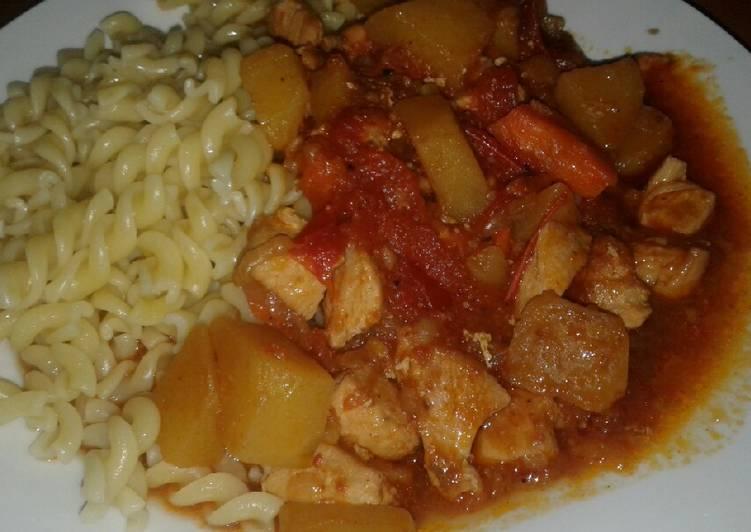 Recipe of Favorite Chicken Paprikash