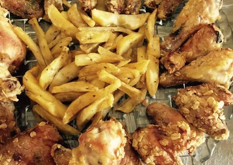 دجاج مقلي صحي 😻